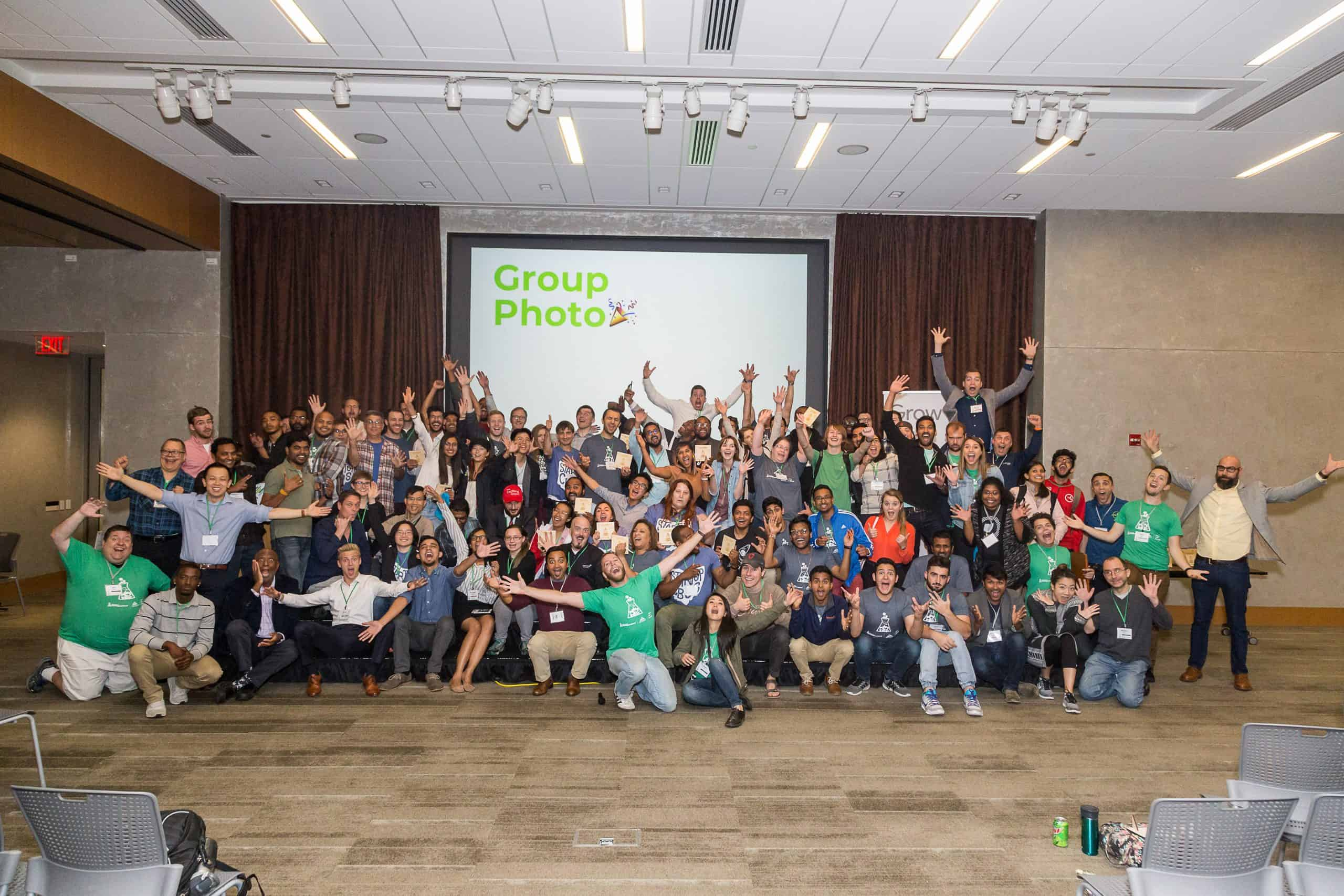 Startup Weekend Group Photo 2018