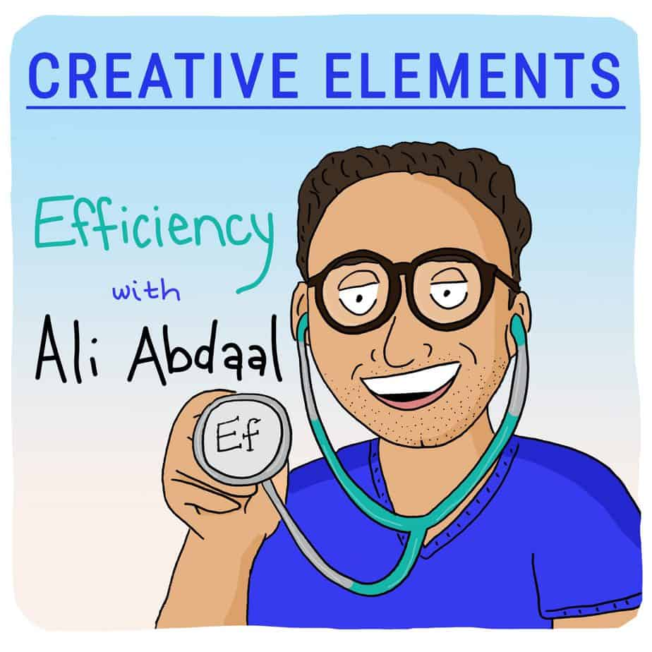Ali Abdaal on Creative Elements