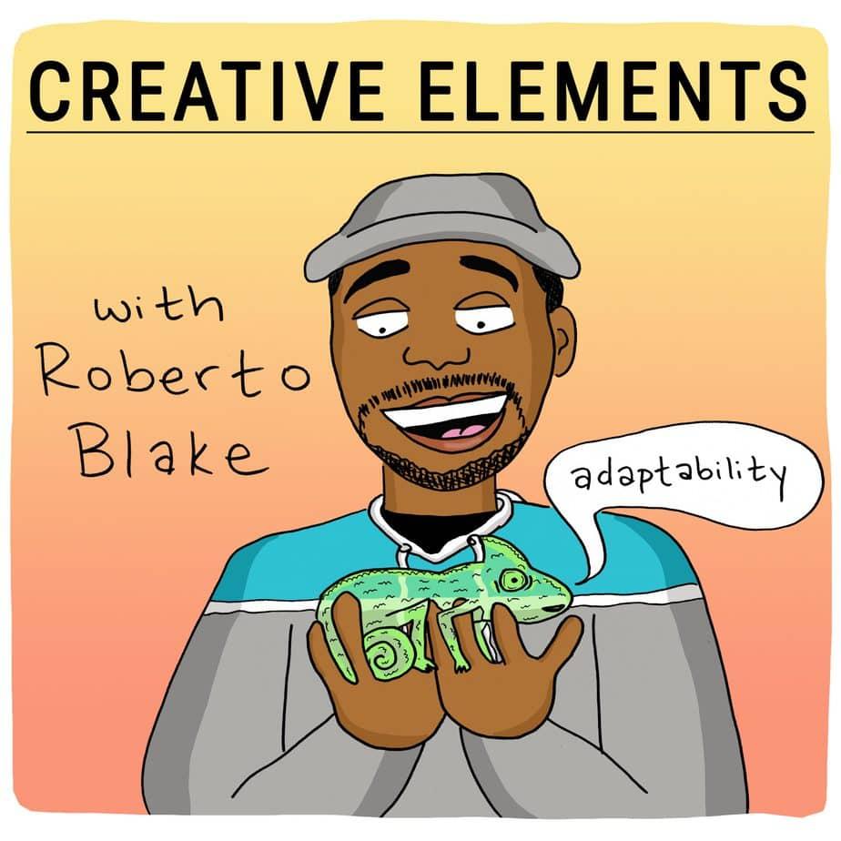 Roberto Blake on Creative Elements